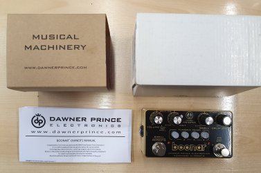 Dawner Prince Boonar – Multi-head Drum Echo Pedal