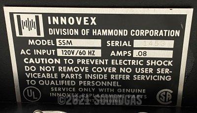 Hammond Innovex Condor SSM