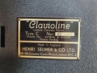 Selmer Clavioline Concert