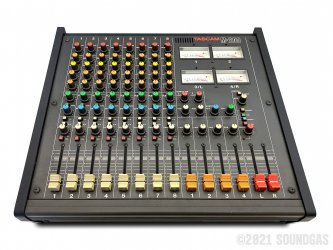 Tascam-M208-Stereo-Mixer-SN50073-Cover-2