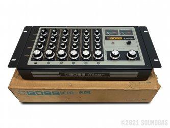 Boss-KM-6B-Mixer-SN951163-Cover-2