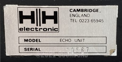 HH Slider Tape Echo