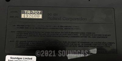 Roland TR-707 Expanded (727 808 909 plus 4 Soundgas Banks)