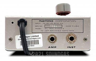 Musitronics Mu-Tron Phasor II
